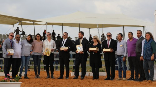 The Israeli Arabian Horse Festival 2018 - officials - photo by Jill Crols