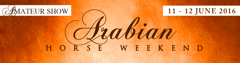 Arabian Horse Weekend - Amateur Show - Coverage