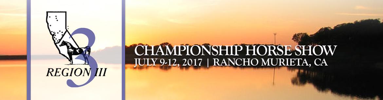 Region 3 - Championships